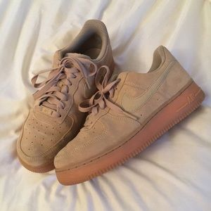 Women's Nike Suede Air Force 1